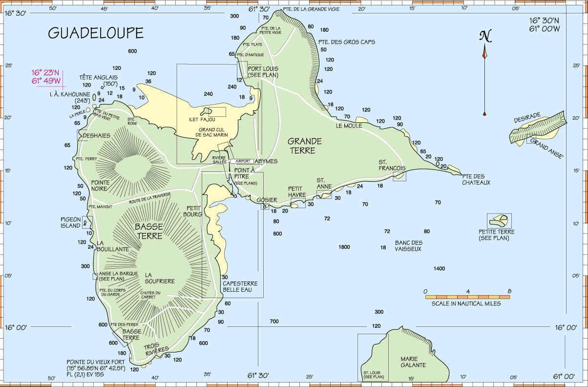 sydligste ø i caribien
